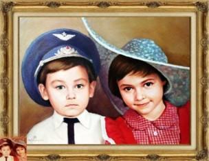 Портреты на заказ групповой портрет